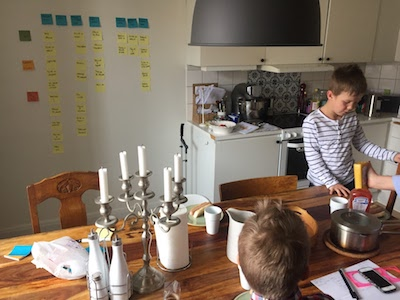 User story mapping in action - family moving style