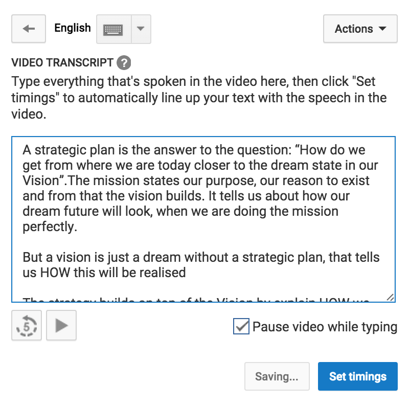 How to add and translate subtitles for your YouTube video in 10 minutes